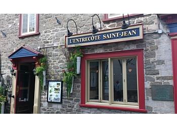 Quebec steak house LEntrecote Saint-Jean