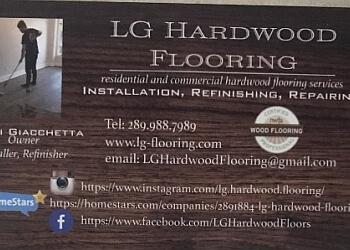 Ajax flooring company LG Hardwood Flooring
