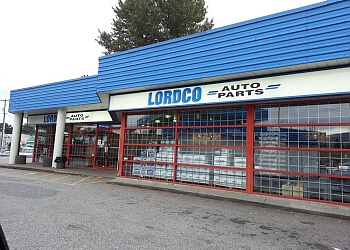 Coquitlam auto parts store LORDCO
