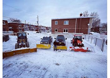Montreal snow removal LP Déneigement