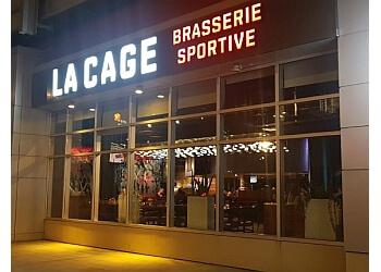 Montreal sports bar La Cage Brasserie Sportive