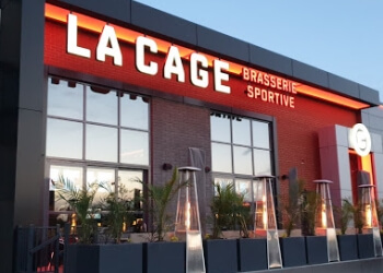 Laval sports bar La Cage - Brasserie sportive