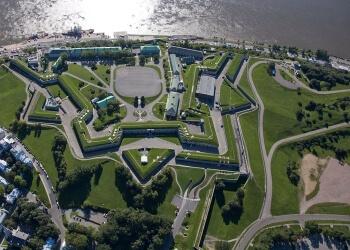 Quebec landmark La Citadelle De Quebec