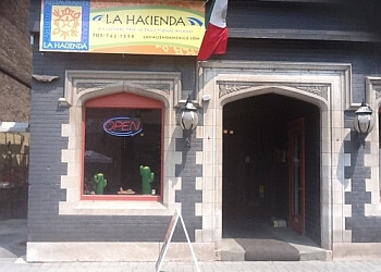 Peterborough mexican restaurant La Hacienda