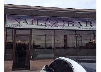 London nail salon La Luxe Nail Bar