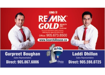 Brampton real estate agent Laddi Dhillon