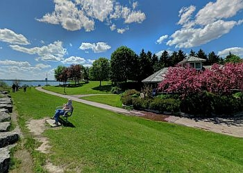 Mississauga public park Lakefront Promenade Park