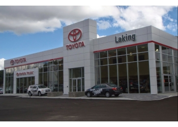 Sudbury car dealership Laking Toyota