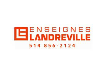 Saint Jerome sign company Landreville Promotions Inc.