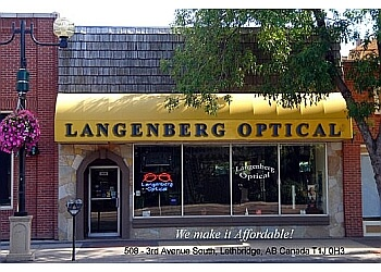 Lethbridge optician Langenberg Optical ltd.