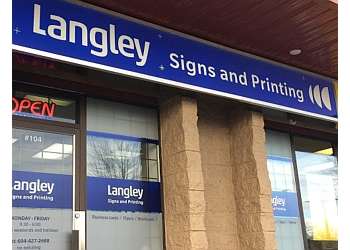 Langley printer Langley Signs & Printing Ltd.