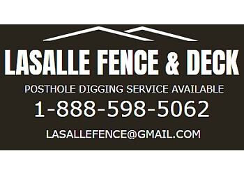 Windsor fencing contractor Lasalle Fence & Deck
