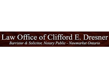 Newmarket notary public Law Office of Clifford E. Dresner