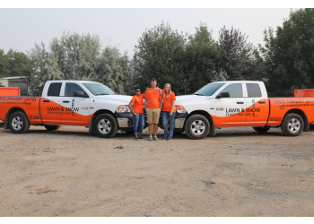 Lethbridge landscaping company Lawn & Snow Bros Inc.
