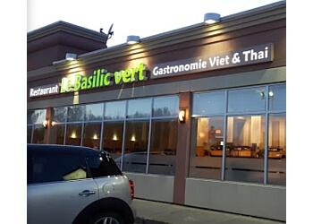 Laval thai restaurant Le Basilic Vert