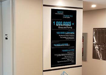Terrebonne sign company Le Groupe BLH
