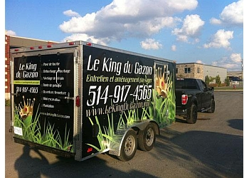 Mirabel landscaping company Le King du Gazon