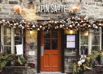 Quebec french cuisine Le Lapin Saute
