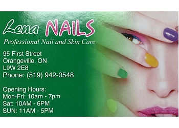 Orangeville nail salon Lena Nails