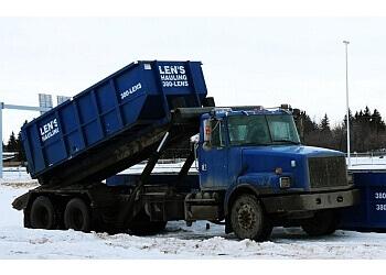 Saskatoon junk removal Len's Hauling
