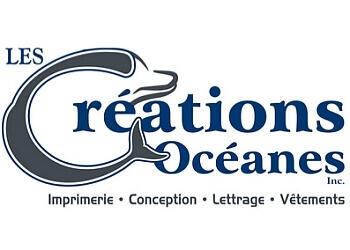 Trois Rivieres printer Les Créations Océanes Inc.