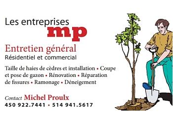 Longueuil lawn care service Les Entreprises MP