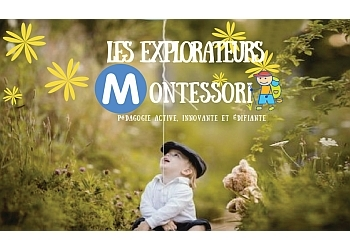 Quebec preschool Les Explorateurs Montessori