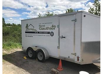 Saguenay landscaping company Les entreprises René Gauthier
