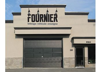 Sherbrooke sign company Lettrage Fournier