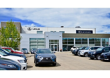 Edmonton car dealership Lexus Of Edmonton