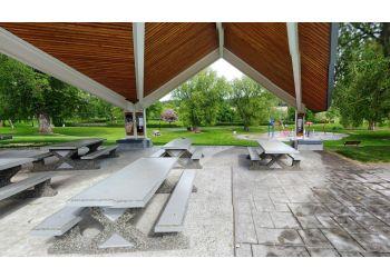 Prince George public park Lheidli T'enneh Memorial Park
