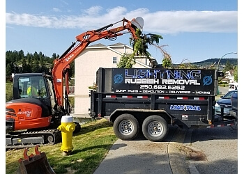 Kamloops junk removal Lightning Rubbish Removal