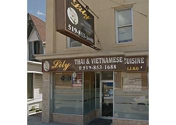 Halton Hills vietnamese restaurant Lily Thai & Vietnamese Cuisine