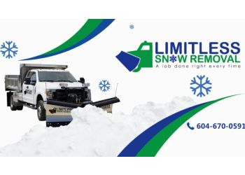 Coquitlam snow removal Limitless Snow Removal Company