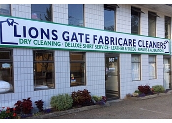 North Vancouver dry cleaner Lions Gate Fabricare Cleaners
