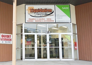 Saguenay furniture store Liquidation Telquel