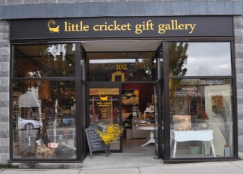 Maple Ridge gift shop Little Cricket Gift Gallery