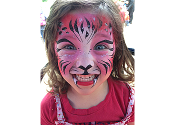 Vancouver face painting Living Magic Entertainment