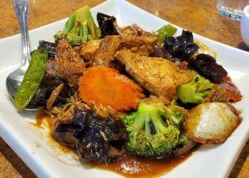 Edmonton vegetarian restaurant Loma House Vegetarian Express