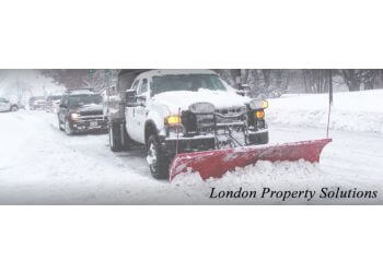 London snow removal London Property Solutions