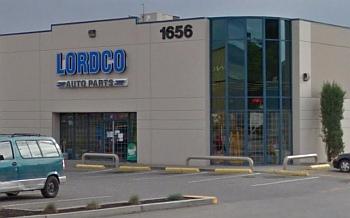 Kelowna auto parts store Lordco Parts Ltd.