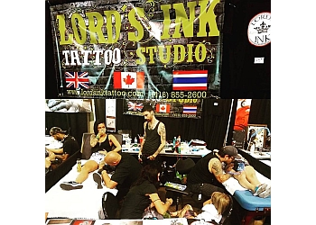 Vaughan tattoo shop Lord's Ink
