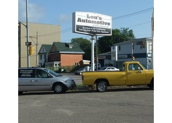 Sault Ste Marie car repair shop Lou's Automotive and Mechanical