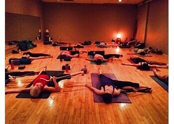 Grande Prairie yoga studio Love Life Hot Yoga