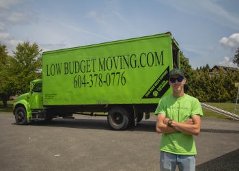 Chilliwack moving company Low Budget Moving and Storage