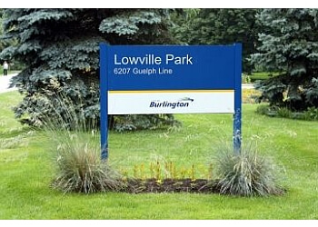 Burlington hiking trail Lowville Park Trail