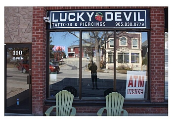 Newmarket tattoo shop Lucky Devil