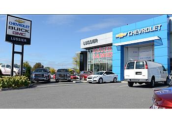 Saint Hyacinthe car dealership Lussier Chevrolet Buick GMC Corvette Ltée