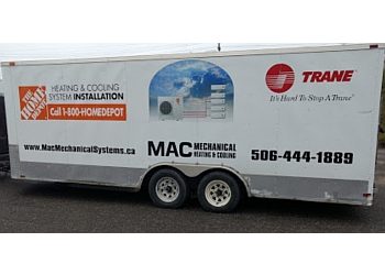 Fredericton hvac service MAC Mechanical Systems Inc.