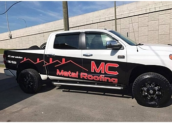 Saint John roofing contractor MC Metal Roofing